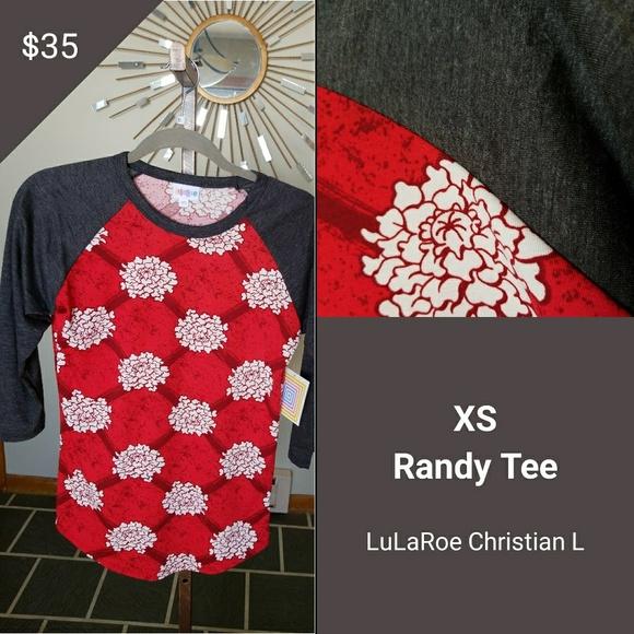 LuLaRoe Tops - Randy Tee